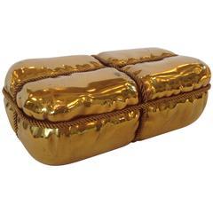 Tiffany Gilded Bronze Box