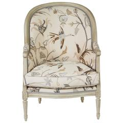 """Hollyhock """"Mimi"""" Chair Inspired by a 19th Century Bergere"""