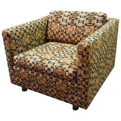 Ward Bennett Lounge Chair for Brickel Associates