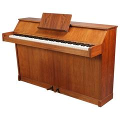 Danish Modern Console Piano of Well-Figured Rosewood