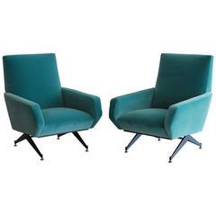 Italian Club Chairs