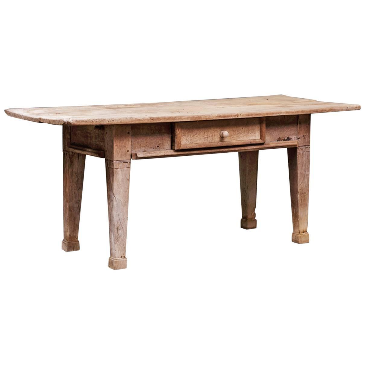 Scandinavian rustic farm tavern table circa 1800 or for Rustic farm tables for sale