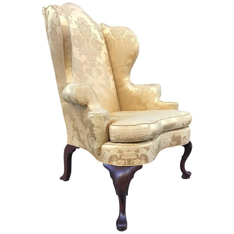 kittinger continental wingback chair 1