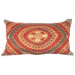 Contemporary Silk Hand Embroidered Pillow from Armenia