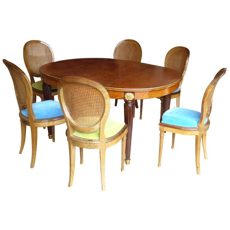 Linke Fran Ois Dinning Room Set Style Louis XVI Circa 1930 At 1stdibs