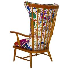 Armchair by Anna Lülja Praun with Original Josef Frank Design, circa 1952