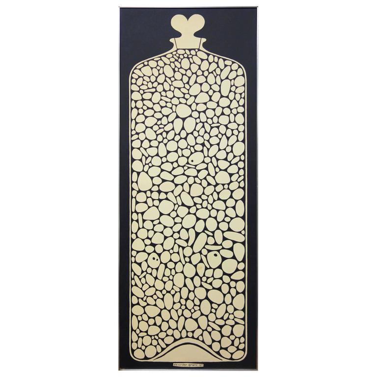 Mid-Century Alexander Girard Environmental Enrichment Panel for Herman Miller