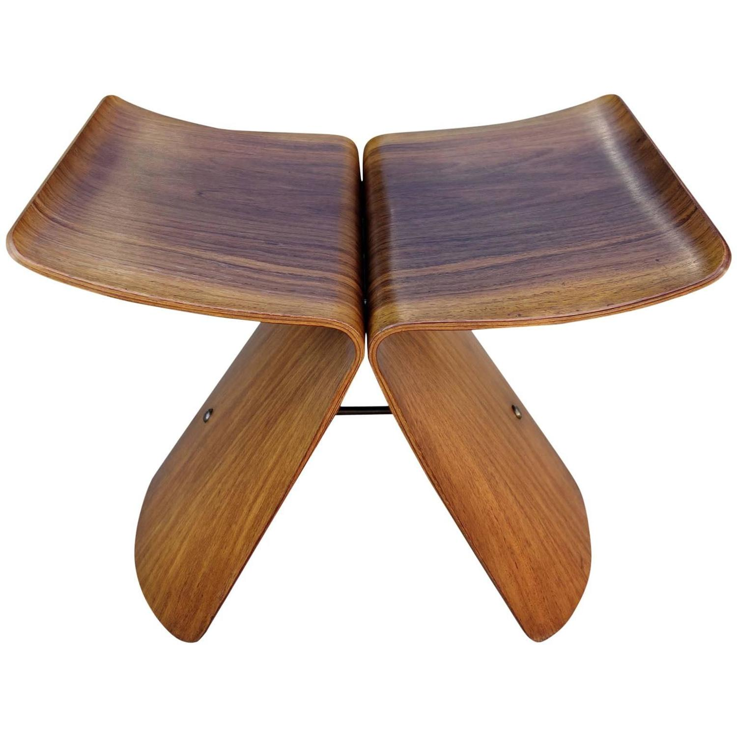 Butterfly chair sori yanagi - Museum Quality Mid Century Sori Yanagi Quot Butterfly Stool Quot