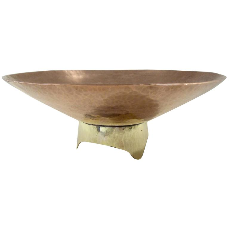 Copper and Brass Bowl