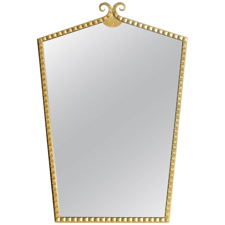 Art Deco Gilt Mirror 1
