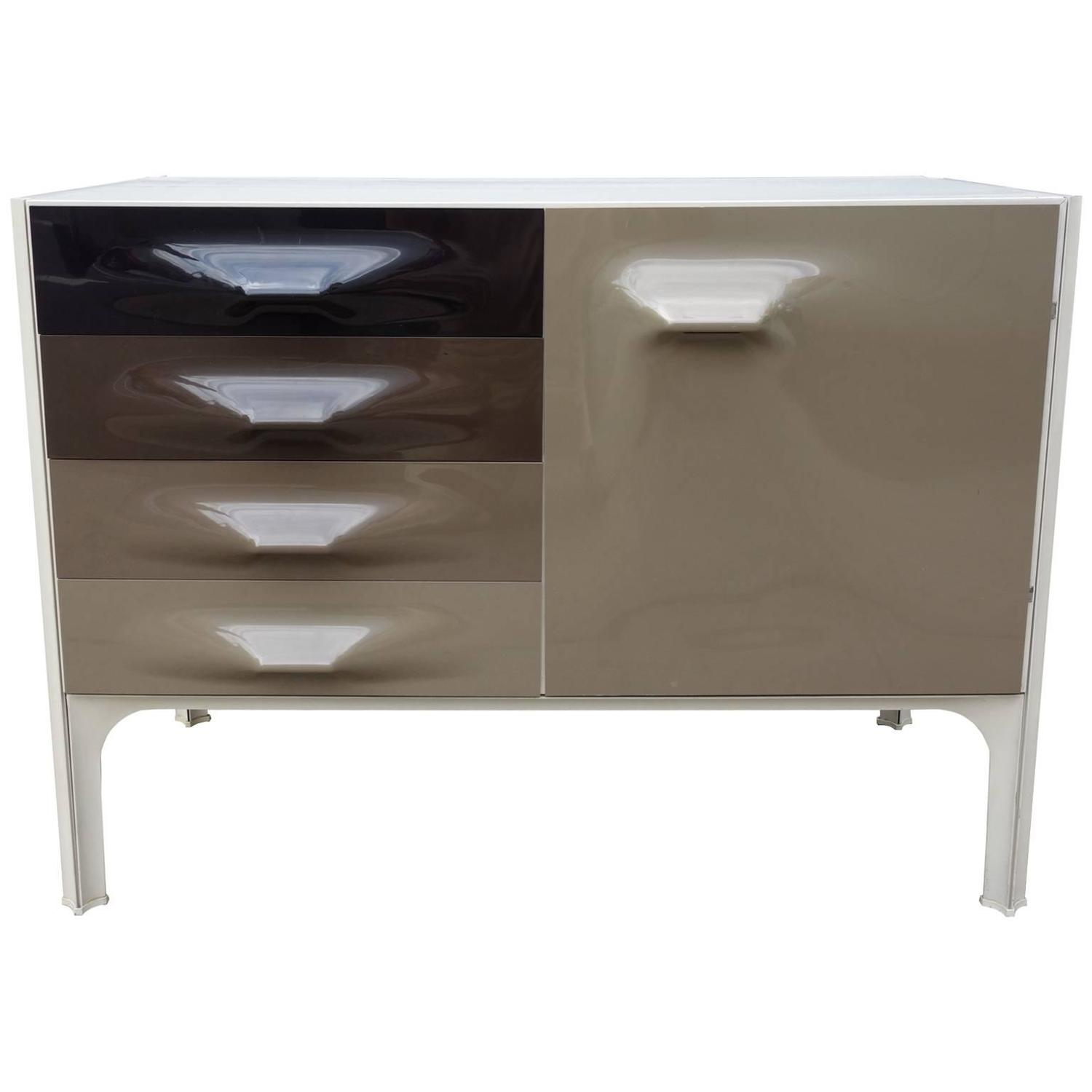 Mid Century Raymond Loewy DF2000 Cabinet or Credenza For