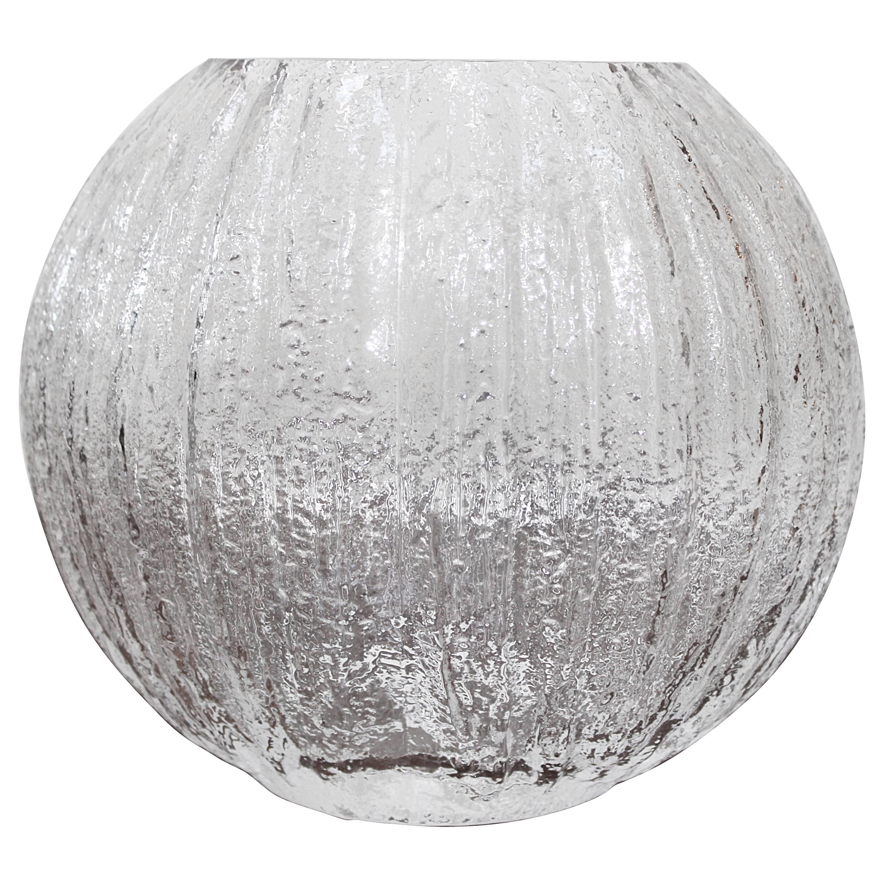 Timo Sarpaneva Glass Vase