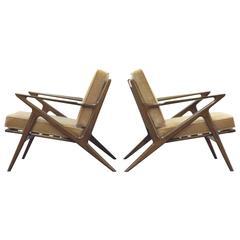 Poul Jensen for Selig Z Lounge Chairs