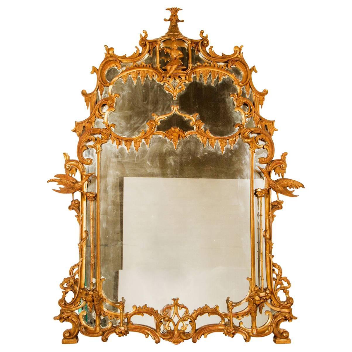 George III Chinoiserie Mirror