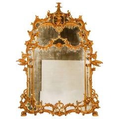 George III Chinoiserie Mirror