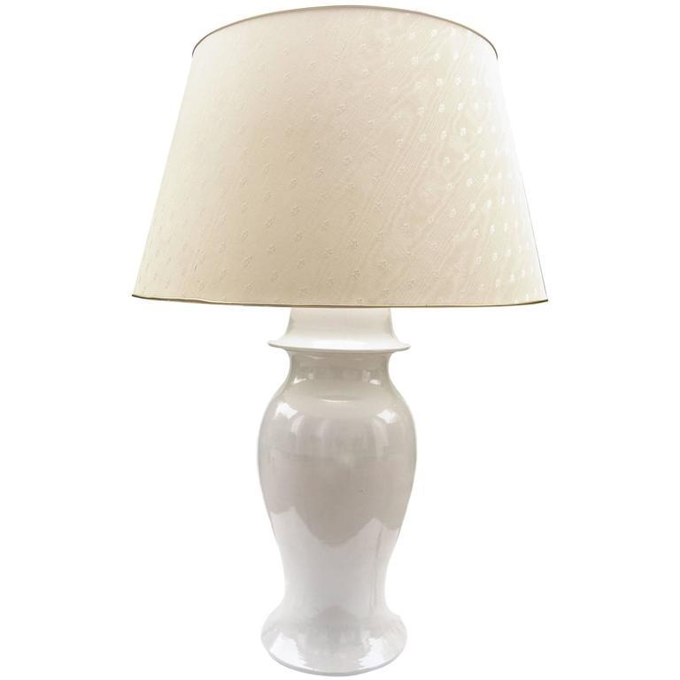 Huge Tommaso Barbi Ceramic Lamp, Italy, 1960s