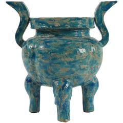 Chinese Vase from the 20th Century in Ceramic