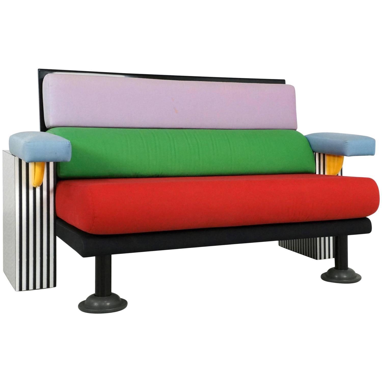 Michele De Lucchi Lido Sofa For Memphis, 1982 For Sale At
