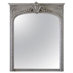 20th Century, Louis XVI Style Trumeau Mirror