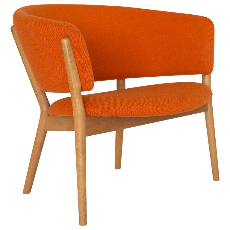 Nanna Ditzel Oak Easy Chair for Soren Willadsen