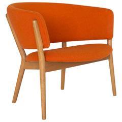 Nanna Ditzel Oak Easy Chair for Soren Willadsen