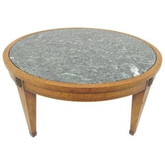 Mid-Century Neoclassical Coffee Table by Charak, Dated 1952