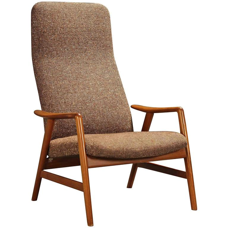 Beautiful Contour Armchair By Alf Svensson For Sale