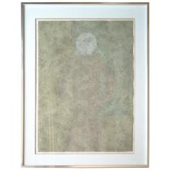 Rufino Tamayo, Personaje en Gris, Lithography in Colors, Signed, Numbered,Framed