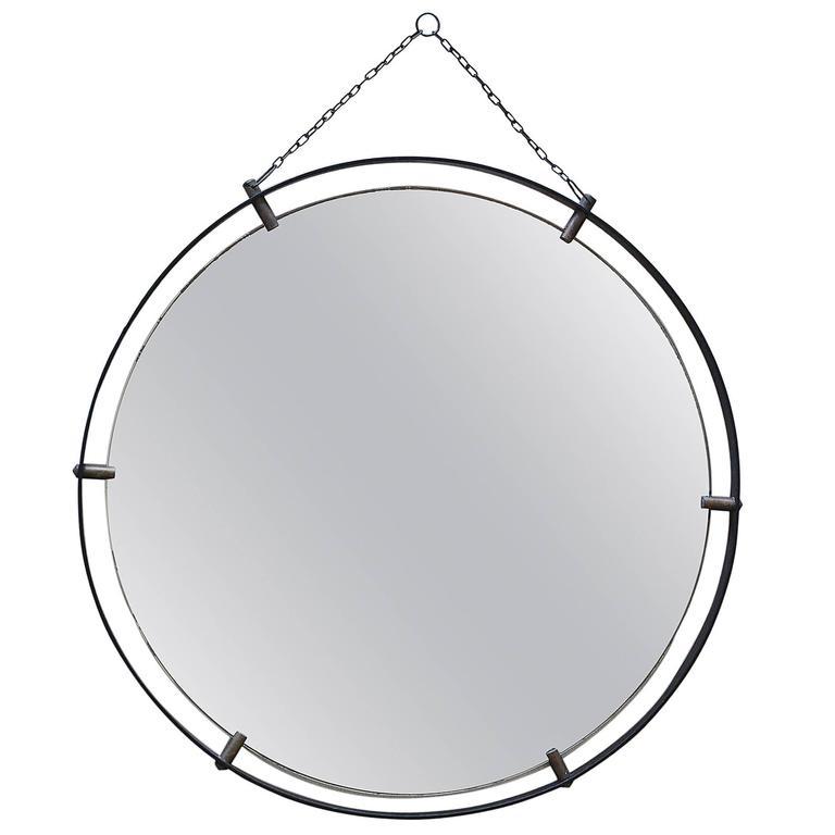 Italian Iron Mirror 1