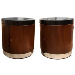 Nice pair of 1980s Polo by Ralph Lauren nightstands or end tables