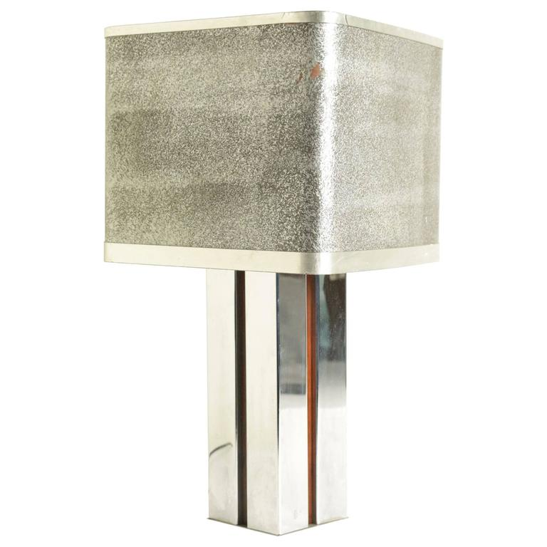 Aluminum Desk Lamp with Square Section