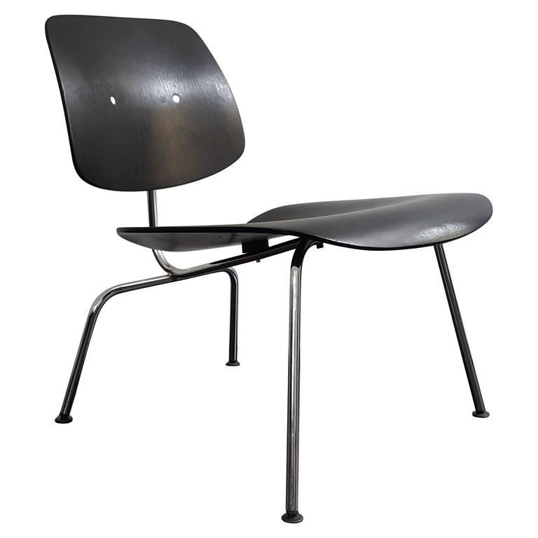 original vintage charles and ray eames lcm recliner for sale at 1stdibs. Black Bedroom Furniture Sets. Home Design Ideas