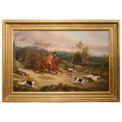"""The Bodsworth Hunt"" Attributed to David Dalby of York"
