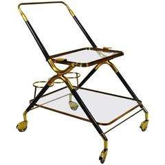Small Bar Cart by Cesare Lacca