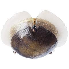 Peill & Putzler Amber Murano Glass Wall or Ceiling Light