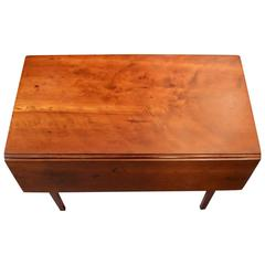Beautiful American Cherry Drop Leaf Table