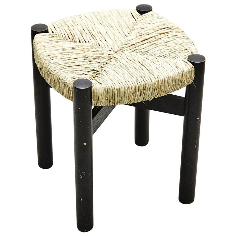 Stool by Charlotte Perriand for Meribel, circa 1950