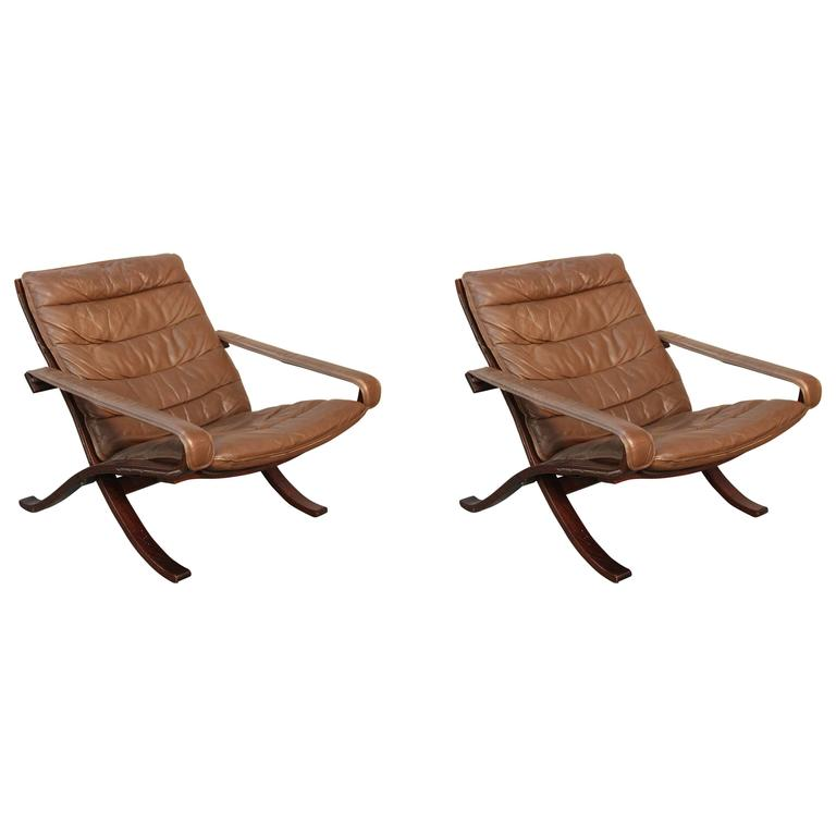 Ingmar Relling for Westnofa Flex Safari Chairs For Sale at 1stdibs