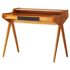 Beautiful Desk Writing Table by Helmut Magg for WK Möbel Germany, 1955