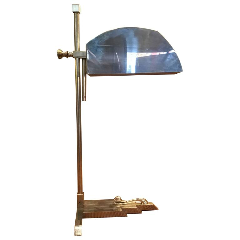 Marcel Breuer Desk Lamp, circa 1925