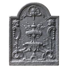 18th Century French Decoration Fireback