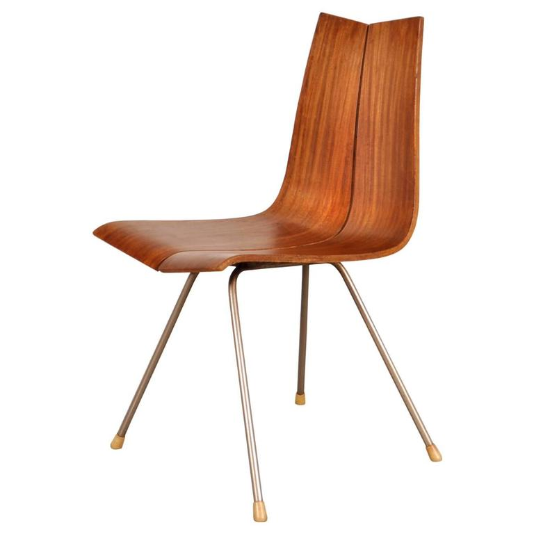 Dining Side Chair by Hans Bellman for Horgen-Glarus, circa 1950