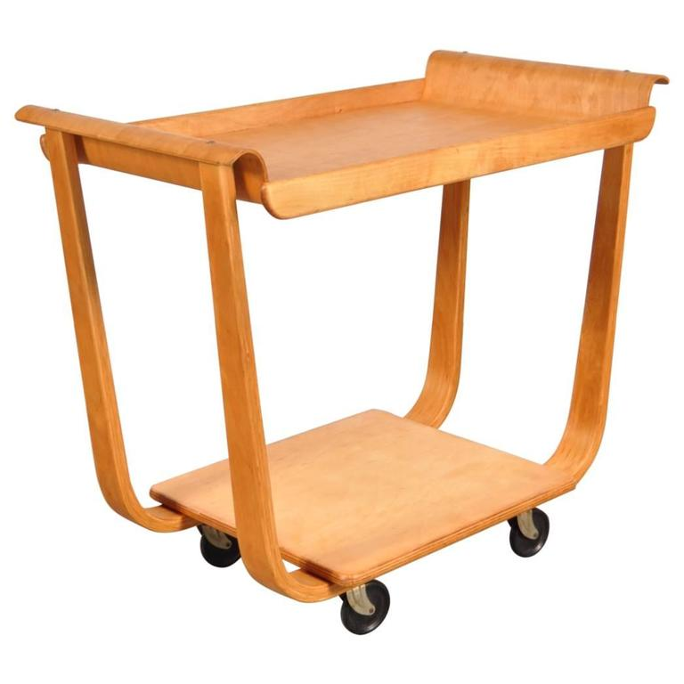 PB01 Trolley by Cees Braakman for Pastoe, Netherlands, circa 1950 For Sale
