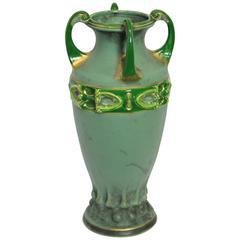 Outstanding Amphora Vase by Amphora Austria, circa 1900