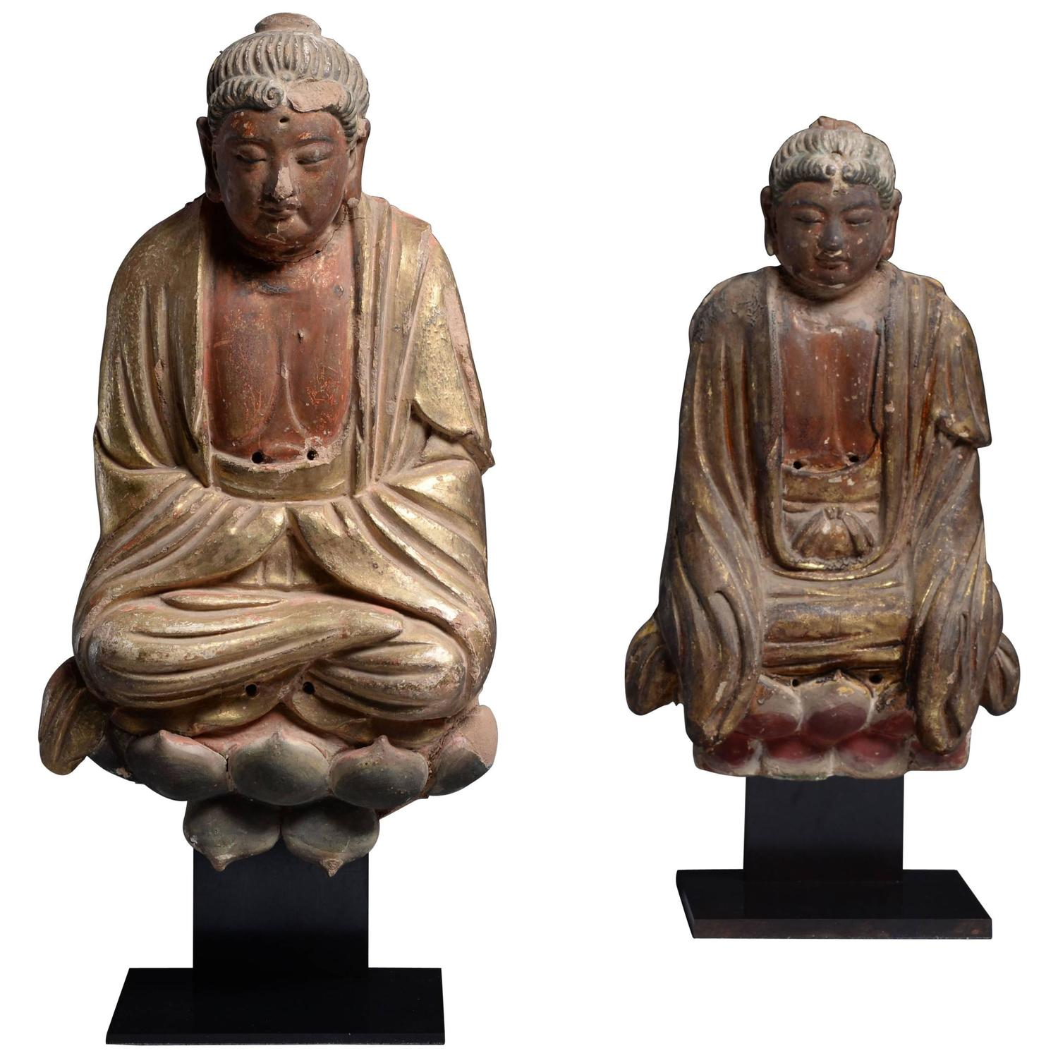 Ancient chinese ming dynasty seated buddha statues 1275 ad for ancient chinese ming dynasty seated buddha statues 1275 ad for sale at 1stdibs buycottarizona