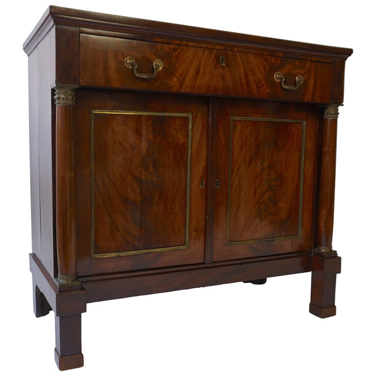 Empire Mahogany Sideboard