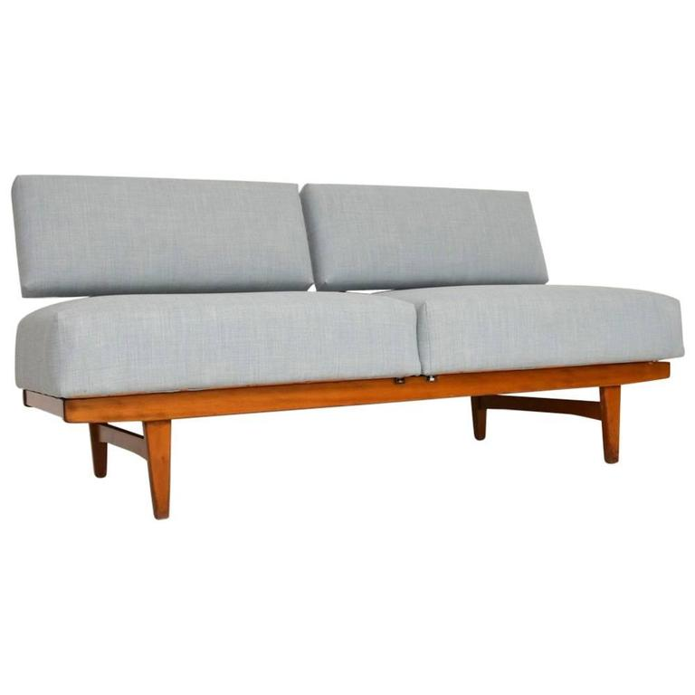 Retro sofa bed or daybed by wilhelm knoll vintage 1950s at 1stdibs Daybed sofa couch