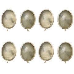 Set of Oval Nautical Sconces, Sold in Pairs