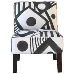 Hand-Painted Side Chair