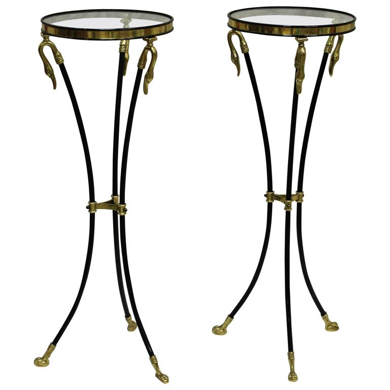 Pair of Empire Styled 20th Century Pedestals